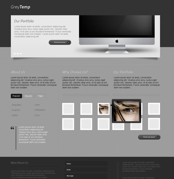 Sleek Portfolio Design