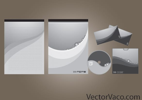 Wave Design Stationary Vector Pack