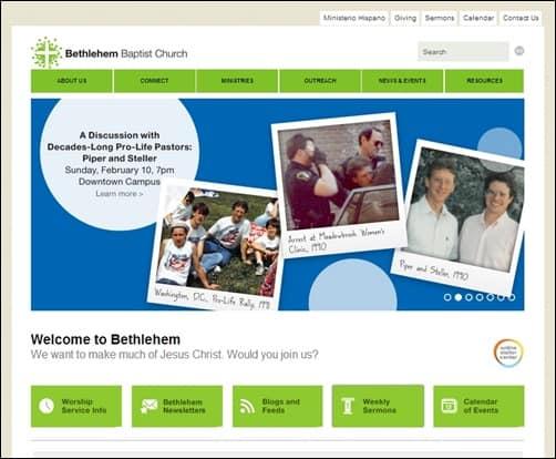 Bethlehem-Baptist-Church-church-websites