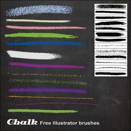 Chalk-Illustrator-Brushes-illustrator-brush