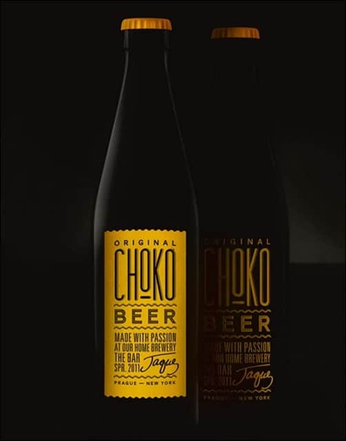ChocoBeer-package-design