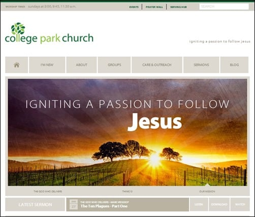 College-Park-Church-church-websites