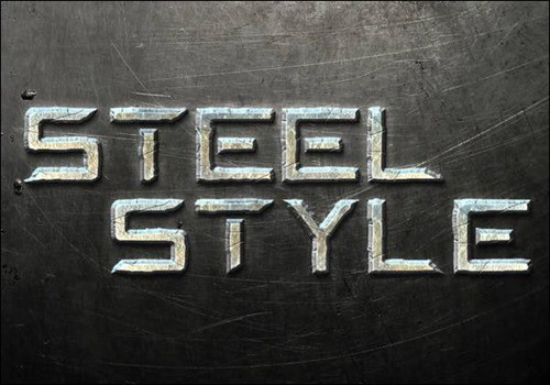 Create-a-Steel-Text-Effect-in-Photoshop