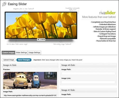 Easing-Slider-wordpress-slider-plugin