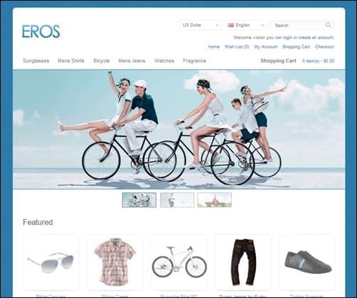 Eros-opencart-templates