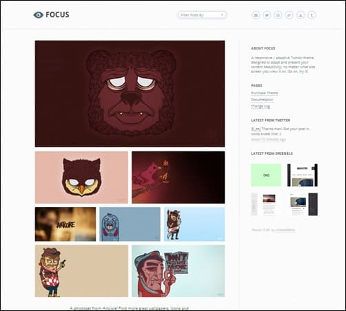 Focus best tumblr themes