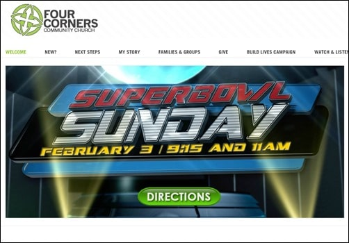 Four-Corners-church-websites