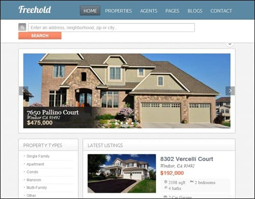 Freehold-drupal-7-themes