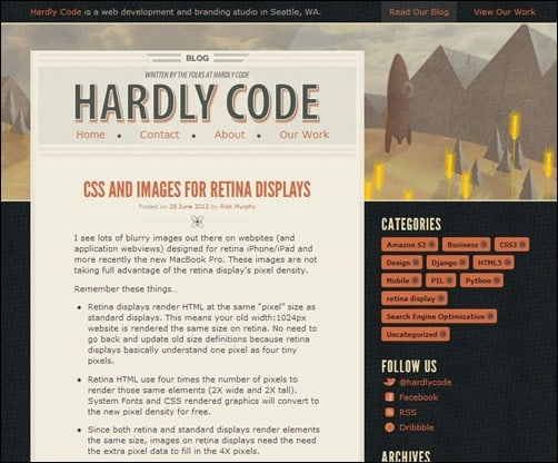 Hardly-Code-personal-blog