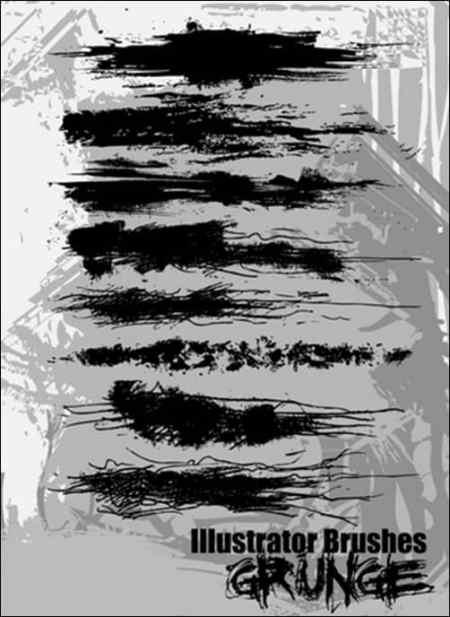 Illustrator-Grunge-Brushes-illustrator-brush