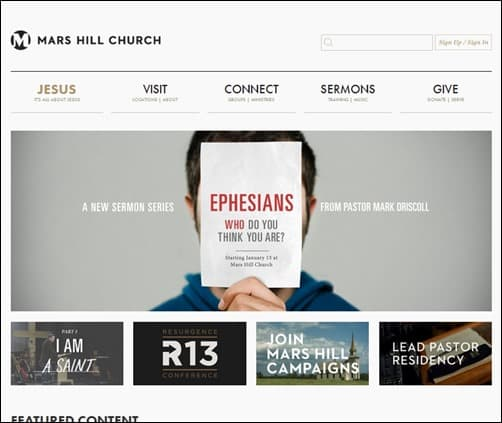 Mars-Hill-Church-church-website-design