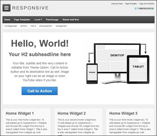 Responsive-simple-wordpress-themes