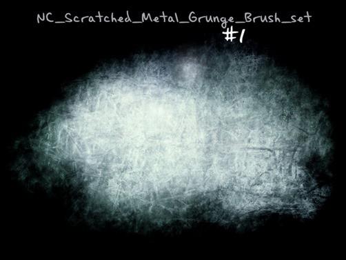 Scratched-Metal-Grunge-Set