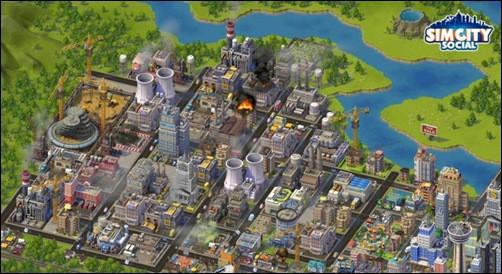 SimCitySocial addictive facebook games