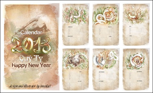 Snake's-calendar-(2013)