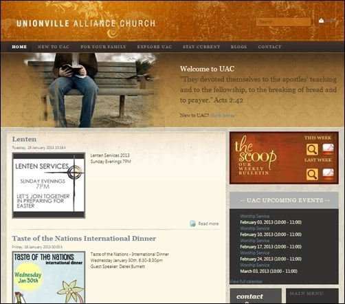 Unionville-Alliance-Church-church-websites