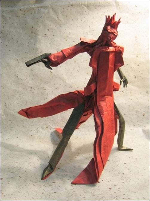 Vash-the-Stampede-ow-to-make-paper-art