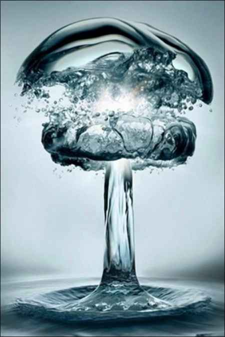 Water-Explosion iphone wallpapers