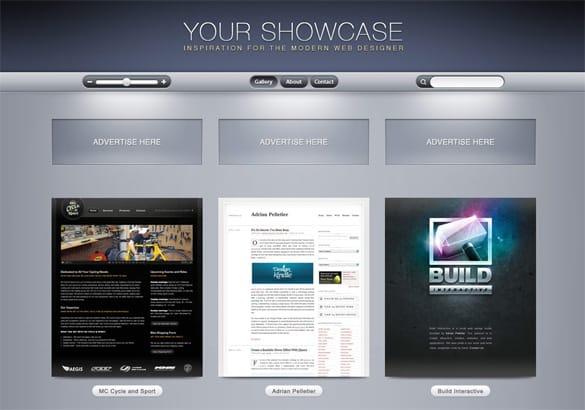 Ultimate Web 2.0 Gallery Website