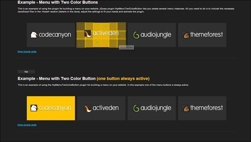animated-button-and-menu