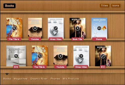 bookshelf-slider jQuery Slider