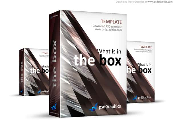 brown box template