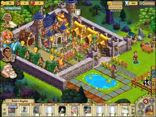 castleville addictive facebook games