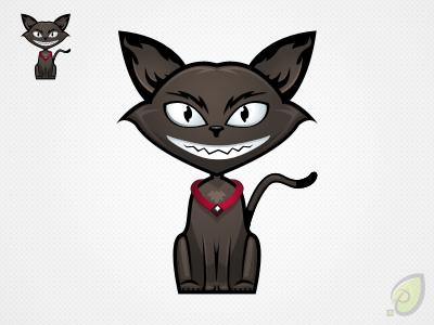 Cat illustration – free psd