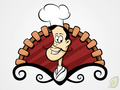 Cook illustration – vector psd