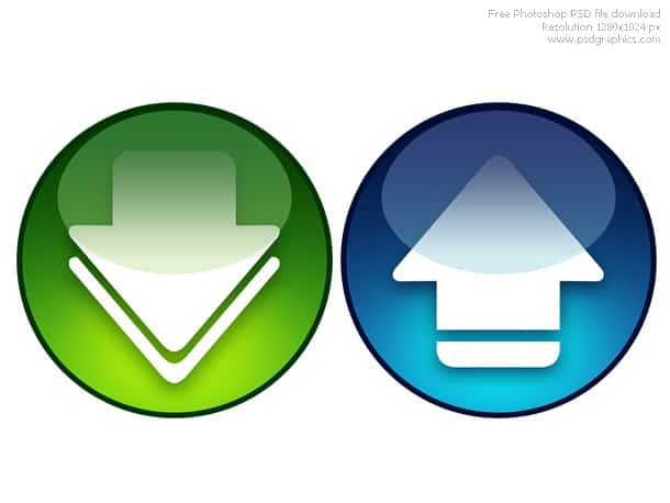 download upload icons
