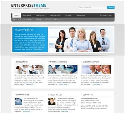 enterprise-theme-wordpress