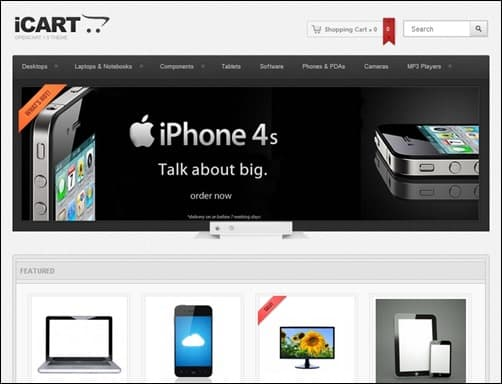 iCart-open-cart-templates