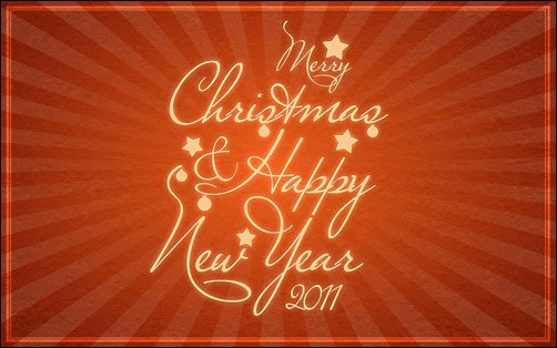 merry-christmas-&-happy new year 2013 wallpaper