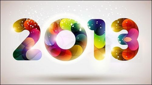 2013 new year wallpaper