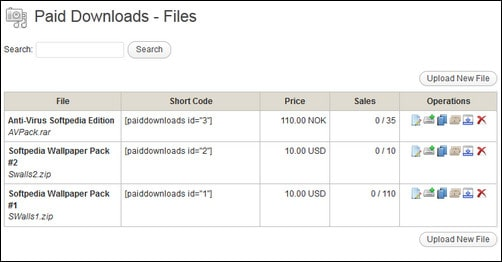 paid downloads