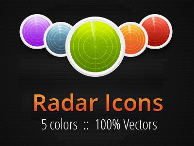 Radar icons