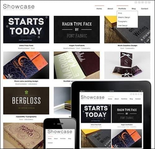 showcase WordPress Photography Themes