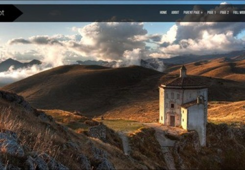 shutter WordPress Photography Themes