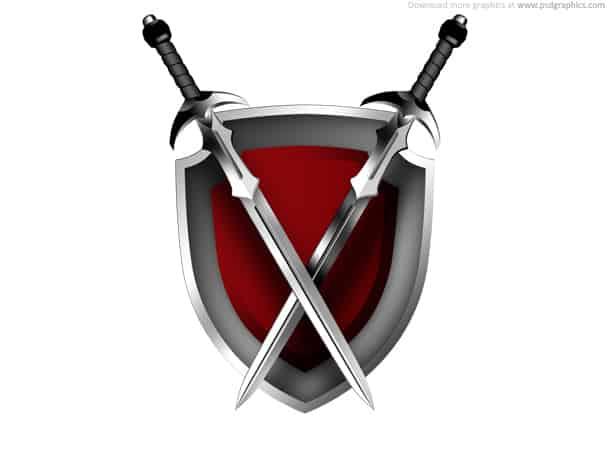 swords shield
