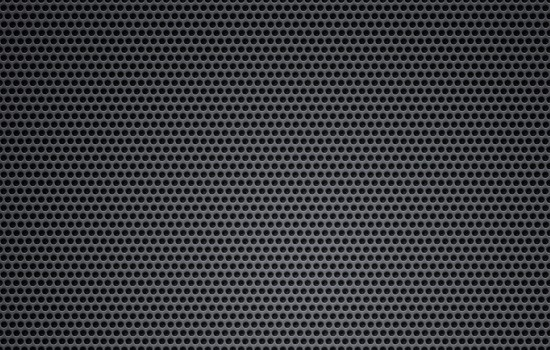 12Black grid leather and metal pattern background
