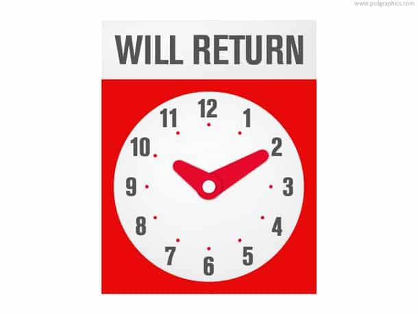 will return