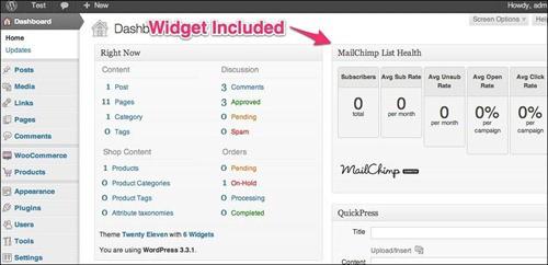 woocommerce-mailchimp wordpress newsletter plugins