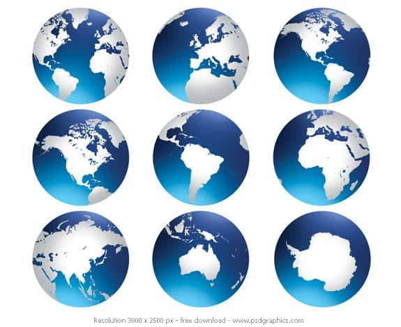 world globe preview