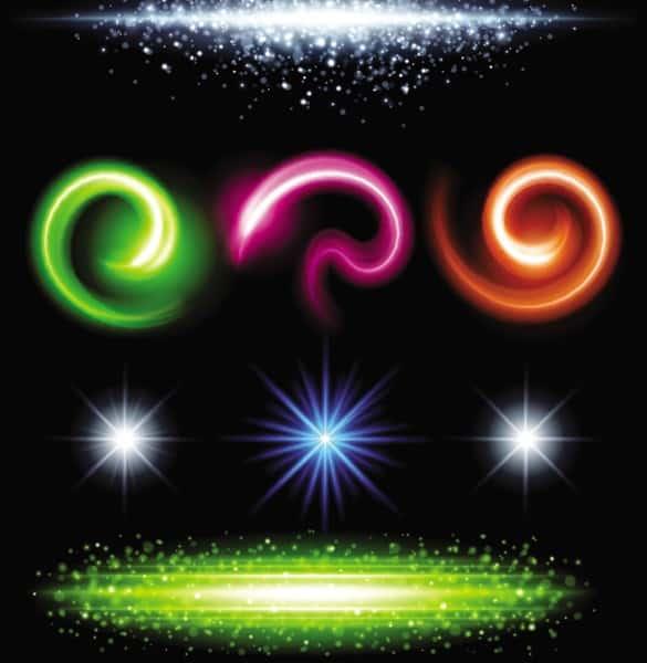 8 Creative Vector Light Effects