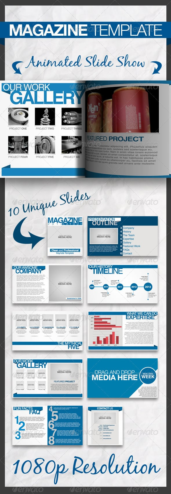 Magazine-Keynote-Presentation-Template