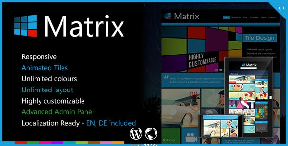 Matrix - Responsive WordPress Theme