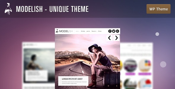 Modelish - Unique WordPress Theme