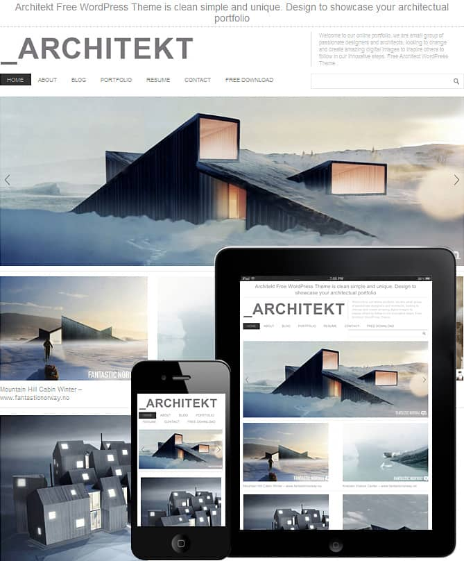 architekt-wordpress-theme