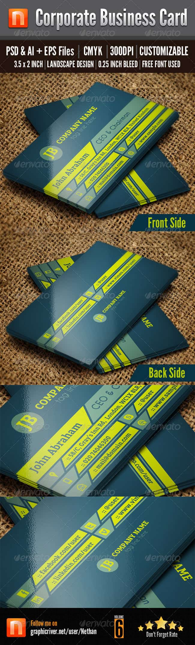 Corporate Business Card - v6