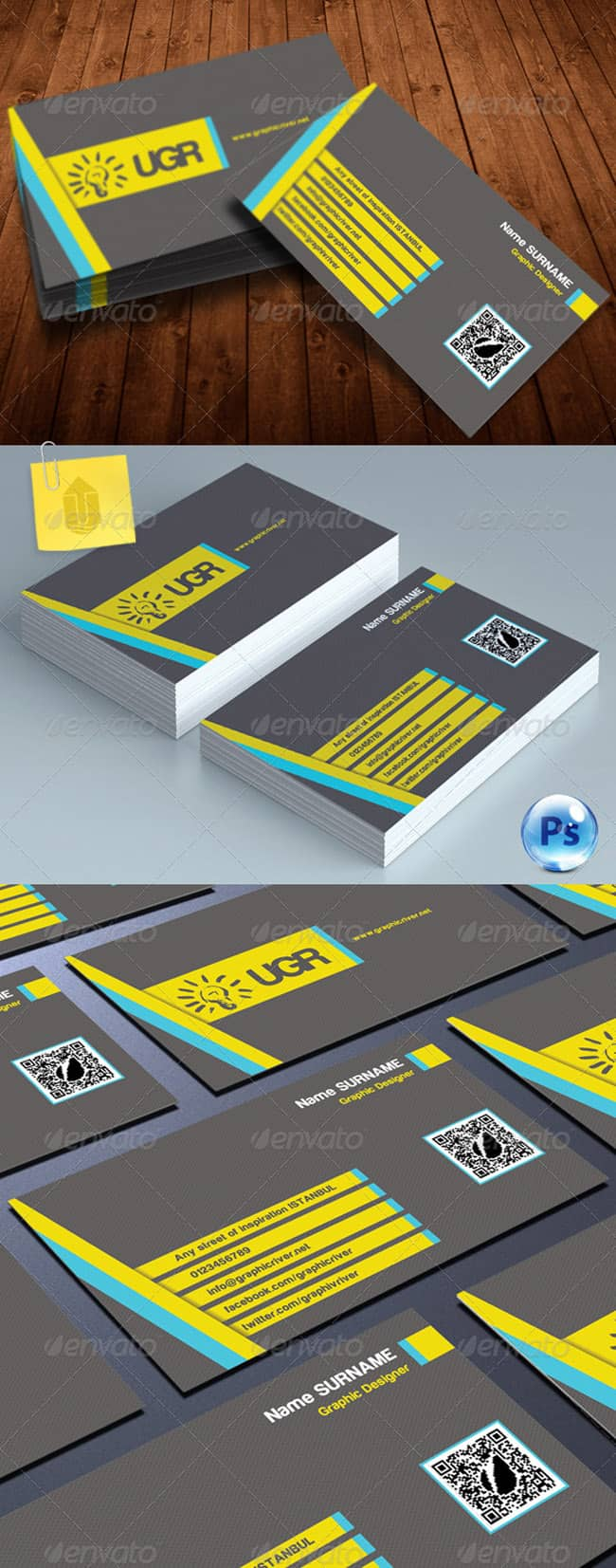 Creative Business Card 234